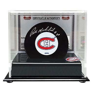 Heritage Hockey – Rondelle des Canadiens de Montréal signée par Peter Mahovlich (20536)