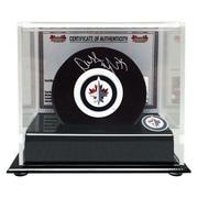 Heritage Hockey – Rondelle des Jets de Winnipeg signée par Dustin Byfuglien (20573)
