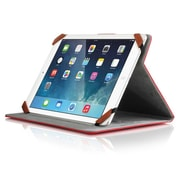 "Aluratek Universal Folio Travel Case for 8"" Tablets, Red"