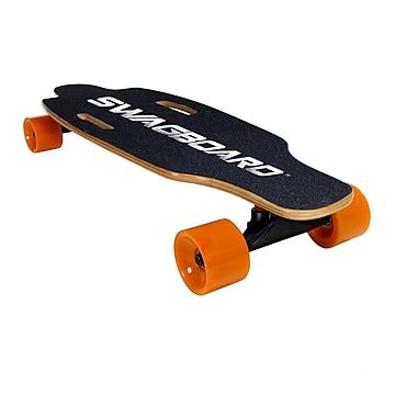 Swagboard Electric Skateboard, Black (66242-2 BLACK)