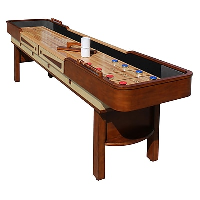 Hathaway Merlot 9-ft Shuffleboard Table (BG1305)