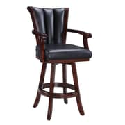 "Hathaway Avondale 32"" H  Swivel Bar Stool in Walnut (BG2815)"