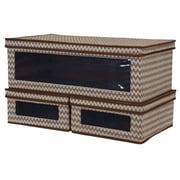 Household Essentials Vision 3 Piece Lidded Storage Box Set