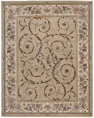 Fleur De Lis Living Bette Hand-Tufted Beige Area Rug; Rectangle 3'6'' x 5'6''