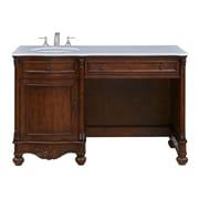 Elegant Lighting Windsor 52'' Single Bathroom Vanity Set