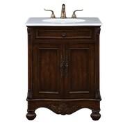 Elegant Lighting Windsor 27'' Single Bathroom Vanity Set