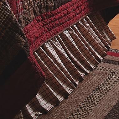 Loon Peak Alcantar Bed Skirt; Twin