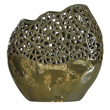 Highland Dunes Dashrath Ceramic Lacework Table Vase