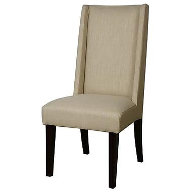 Latitude Run Blain Parsons Chair (Set of 2); Flax