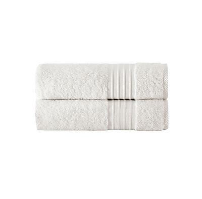 Alcott Hill 100pct Turkish Cotton Bath Towel (Set of 2); Creme