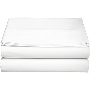 ELEGANT COMFORT 1500 Thread Count Fitted Sheet; White