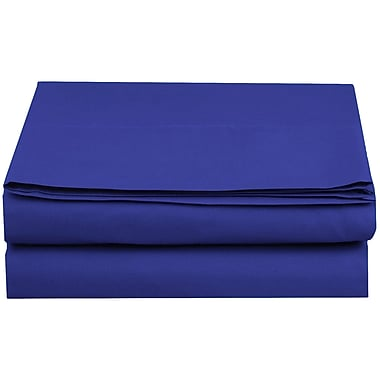 ELEGANT COMFORT 1500 Thread Count Fitted Sheet; Royal Blue