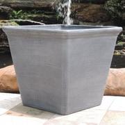 Griffith Creek Designs Aspen Ceramic Pot Planter; 13'' H x 11.8'' W x 11'' D