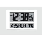 marathon watch company jumbo atomic wall clock white
