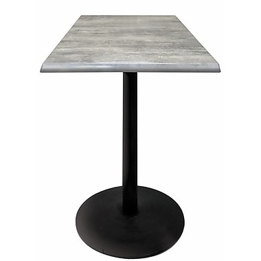 Holland Bar Stool Bar Table; Graystone