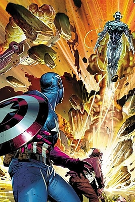 iCanvas 'Avengers Assemble Captain America' by Marvel Comics Graphic Art on Wrapped Canvas