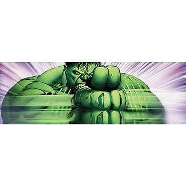 iCanvas 'Marvel Avengers Hulk Clap Panoramic' by Marvel Comics Wall Art on Wrapped Canvas