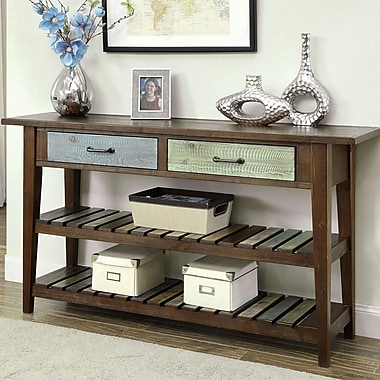 Gracie Oaks Alexa Console Table