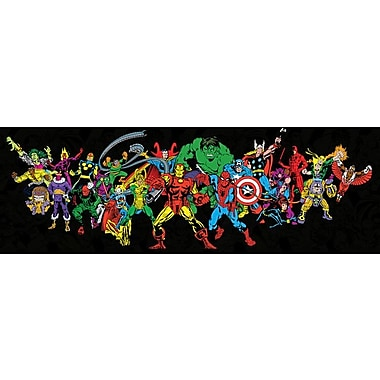 iCanvas 'Marvel Comics Retro Character' by Marvel Comics Graphic Art on Wrapped Canvas