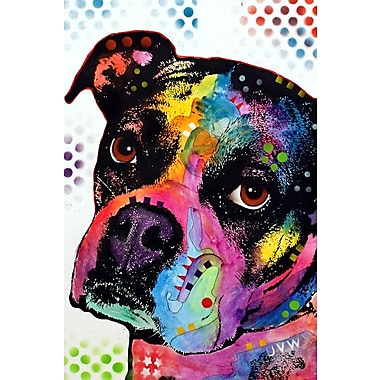 East Urban Home Young Boxer Graphic Art on Wrapped Canvas; 18'' H x 12'' W x 1.5'' D