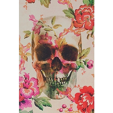 Varick Gallery Skull Graphic Art on Wrapped Canvas; 26'' H x 18'' W x 0.75'' D