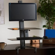 Health Postures TaskMate Go 42'' H x 30'' W Standing Desk Conversion Unit