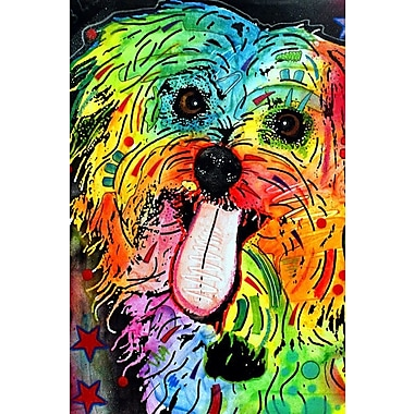 East Urban Home Shih Tzu Graphic Art on Wrapped Canvas; 12'' H x 8'' W x 0.75'' D