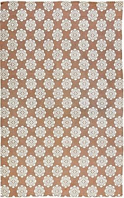 Bungalow Rose Ross Orange Area Rug; 6' x 9'