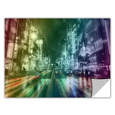 ArtWall ArtApeelz 'Tokyo Night II' by Revolver Ocelot Graphic Art Removable Wall Decal