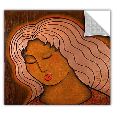 ArtWall ArtApeelz 'Intuitive listening' by Gloria Rothrock Painting Print Removable Wall Decal