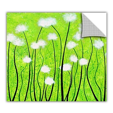 ArtWall ArtApeelz 'Fuzzy Feeling' by Herb Dickinson Painting Print Removable Wall Decal