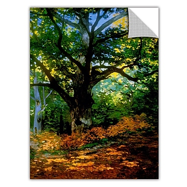 ArtApeelz 'Bodmer at Oak at Fountainbleau' by Claude Monet Painting Print Removable Wall Decal