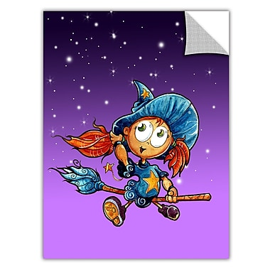 ArtWall ArtApeelz 'Learning to Fly 3' by Luis Peres Graphic Art Removable Wall Decal