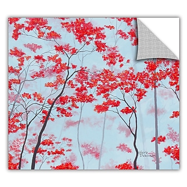 ArtWall ArtApeelz 'Red Forest' by Herb Dickinson Graphic Art Removable Wall Decal
