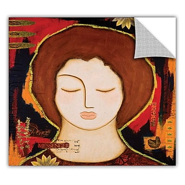 ArtWall ArtApeelz 'Peace Messenger' by Gloria Rothrock Painting Print Removable Wall Decal