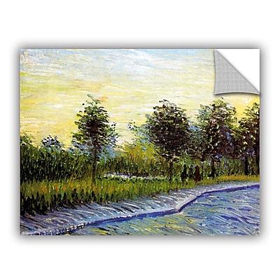 Lane In Voyer D'Argensom Park At Asnieres by Vincent Van Gogh Art Appeelz Removable Wall Mural