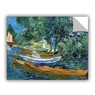 ArtWall Bank of The Oise at Auver by Vincent Van Gogh Art Appeelz Removable Wall Mural