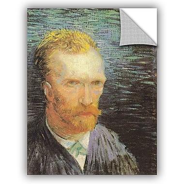ArtWall Self Portrait (Summer 1887) by Vincent Van Gogh Art Appeelz Removable Wall Mural