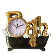 Wee's Beyond Bath 4.72'' Wall Clock; Gold