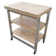 Oasis Concepts Prep Table w/ Wood Top