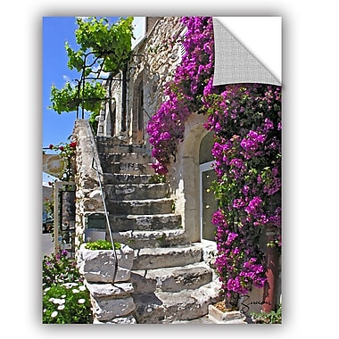 ArtWall St Paul De Vence, France by George Zucconi Art Appeelz Removable Wall Mural