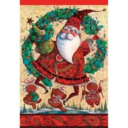 DicksonsInc Frolic Christmas Outdoor 2-Sided Garden Flag