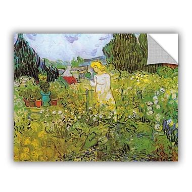 ArtWall Marguerite Gachet In The Garden by Vincent Van Gogh Art Appeelz Removable Wall Mural