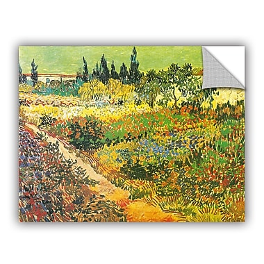 ArtWall Flowering Garden by Vincent Van Gogh Art Appeelz Removable Wall Mural