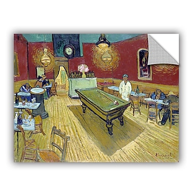The Night Caf In The Place Lamartine In Aries by Vincent Van Gogh Art Appeelz Removable Wall Mural