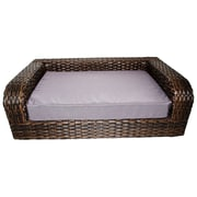Iconic Pet Rattan Dog Sofa
