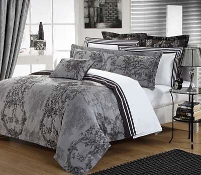 Textile City Luxury 3 Piece Duvet Set; Queen
