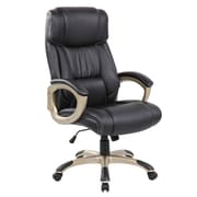 United Chair Industries LLC Deluxe High-Back Executive Chair; Black