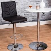 Vogue Furniture Direct Adjustable Height Swivel Bar Stool