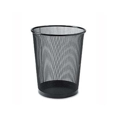 YBM Home Stainless Steel 4.8 Gallon Waste Basket